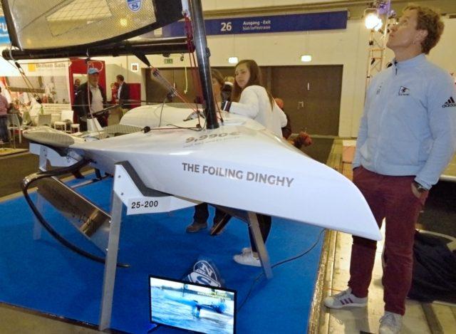 Foiling Dinghy - BOOT & FUN 2018 - Photo © SailingAnarchy.de
