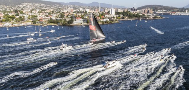 Rolex Sydney Hobart Yacht Race 2018: Line Honours winner WILD OATS XI, Owner: The Oatley Family, Design: Reichel Pugh 30m - Photo © Rolex/Carlo Borlenghi