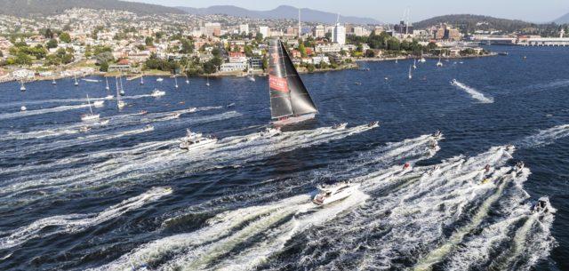 Rolex Sydney Hobart Yacht Race 2018: Line Honours winner WILD OATS XI, Owner: The Oatley Family, Design: Reichel Pugh 30m - Photo © Rolex/Carlo Borlenghi