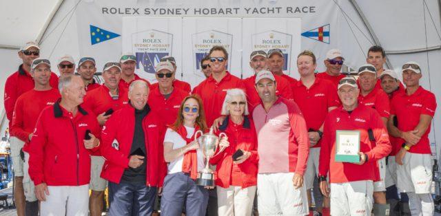 Wild Oats XI - Gewinner der Linie Honours des Rolex Sydney Hobart Yacht Race 2018 - Photo © Rolex/Carlo Borlenghi