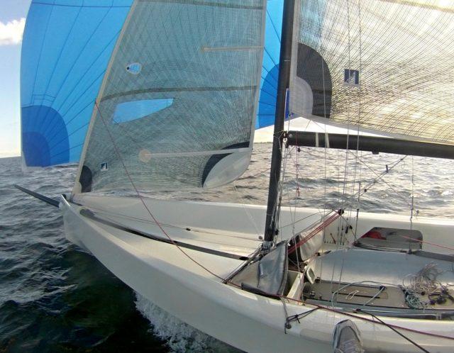 OneOff - 6.50 m Sportboot - Carbon - Gennaker - Photo © Eigner