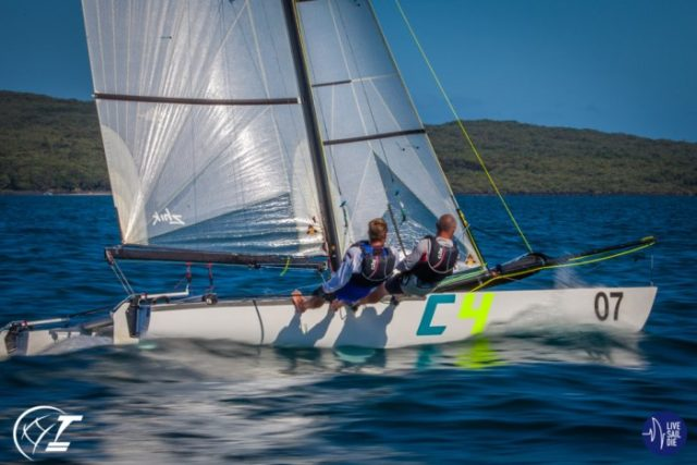 2019 Tornado World Championships - Day 1. Photo © Suellen Davies - LiveSailDie