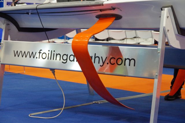 The Foiling Dinghy - Orange ist schnell! - boot Düsseldorf 2019 - Photo © SailingAnarchy.de