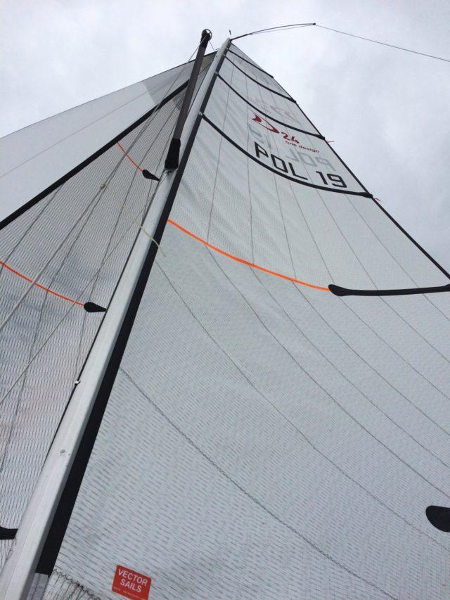Vollzeug auf 50+ - neues Groß von Vector Sails - Photo © SailingAnarchy.de 2019