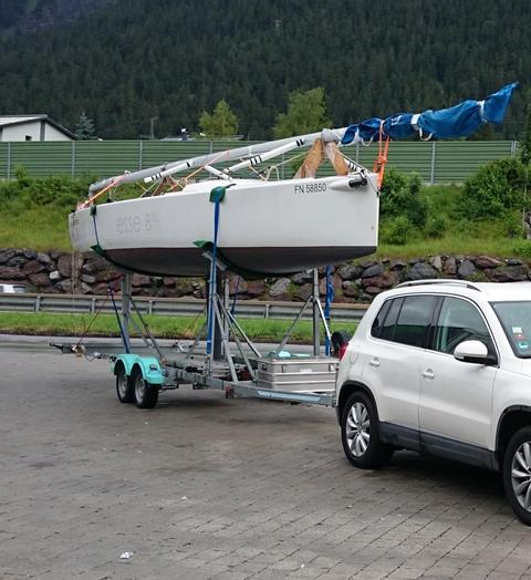 ESSE 850 - Trailerfähige Kielyacht - zu verkaufen - Photo © Eigner