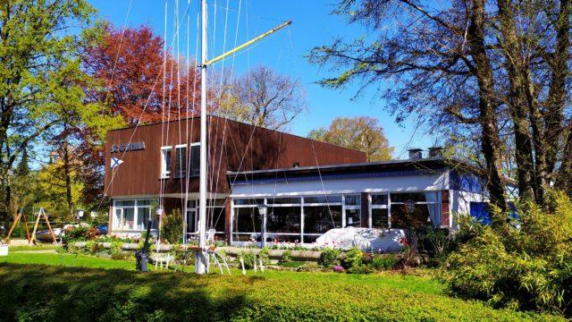 Abslippen in Berlin - Sonne auf der Terrasse aber der Club bleibt zu! - Photo © SailingAnarchy.de 2020
