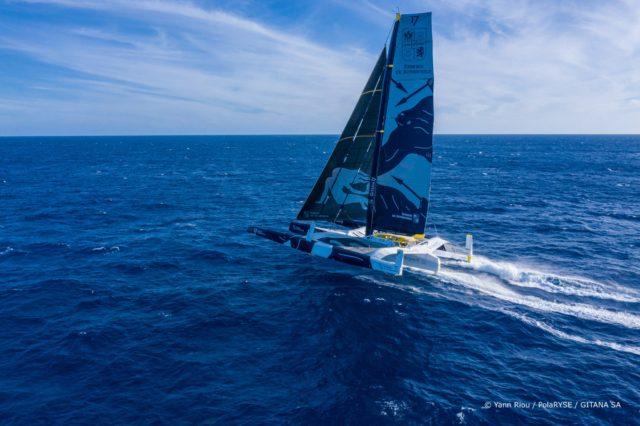 Jules-Verne-Trophy: Maxi Edmond de Rothschild, Team Gitana, 2. Anlauf - Tag 10 - Photo © Yann Riou / PolaRYSE / GITANA SA