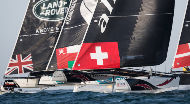 Extreme Sailing Series 2018 - Act 1 - Muscat